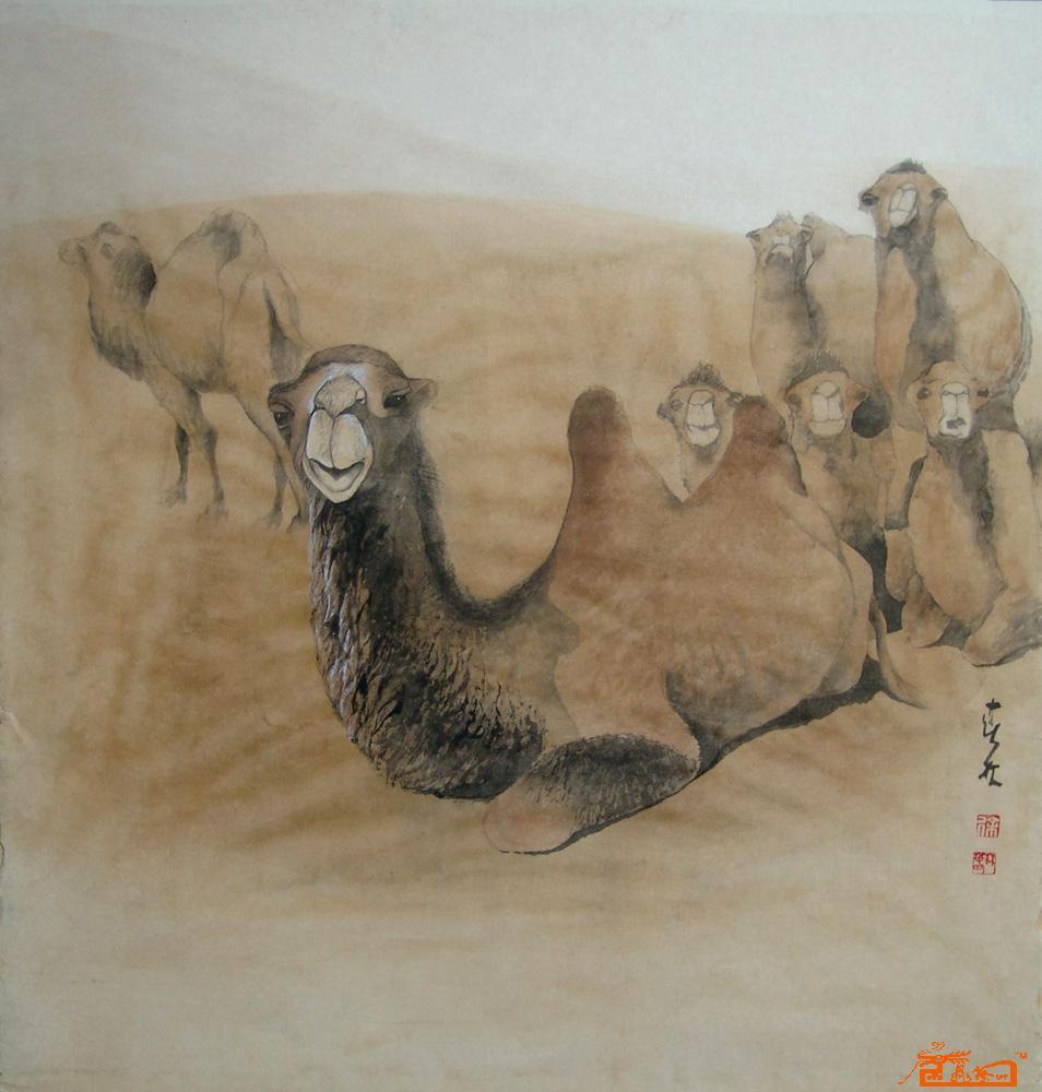 骆驼中国书画交易中心 中国书画销售中心 中国书画拍卖中心 名人字画